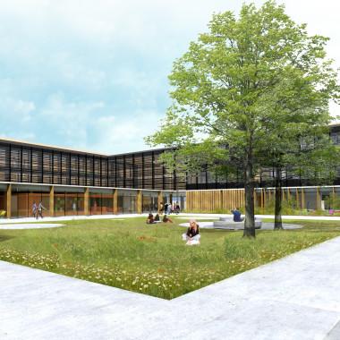 Construction d'un centre d'incendie et de secours et d'une école départementale du feu - JARNAC (16)