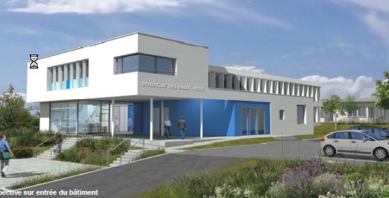 Extension et réaménagement des bureaux du syndicat des eaux - SAINTES (16)