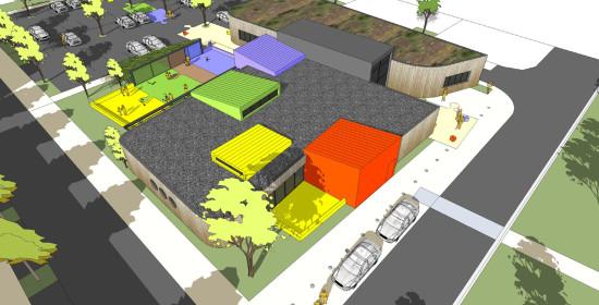 Construction d'une crèche et de salles associatives - Vaux sur Mer (17)